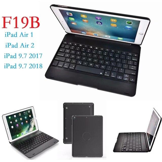 Phổ 9.7 ''Coque đối với iPad Không Khí 2 9.7 2017 2018 Trường Hợp Bàn Phím Cover cho iPad Không Khí 2 Trường Hợp cho iPad 9.7 2017 2018 5 6th Bàn Phím