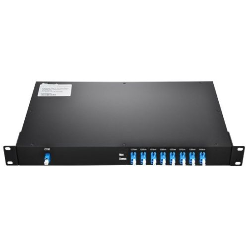 CWDM Mux device,19 rack package,8Channels LC/UPC, Single fiber