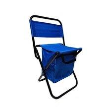 Портативный складной Кемпинг стул многофункциональный с охладителем изолированная сумка для пикника Походное камуфляжное сиденье настольная сумка пляжное кресло