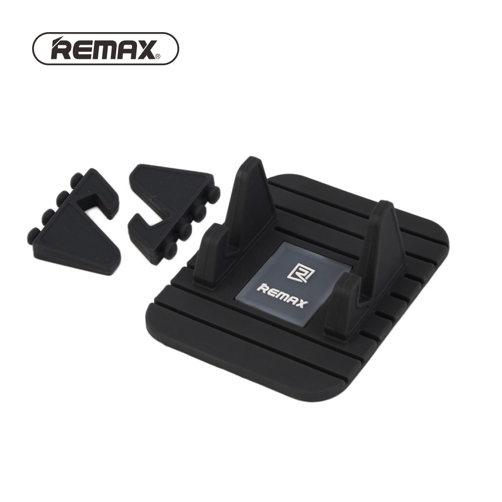 Remax Fairy Universal Silicone Anti Slip Mat car holder Mobile Phone Adjustable mount Stand Bracket Dashboard holder for iphone mobile phone