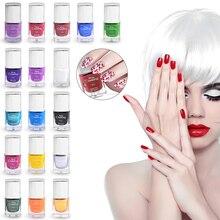 Misscheering 1 Bottle 7ml Nail Art Stamping Polish Nail Shining Colorful DIY Nail Transfer Printing Art Tools 18 Colors TSLM1