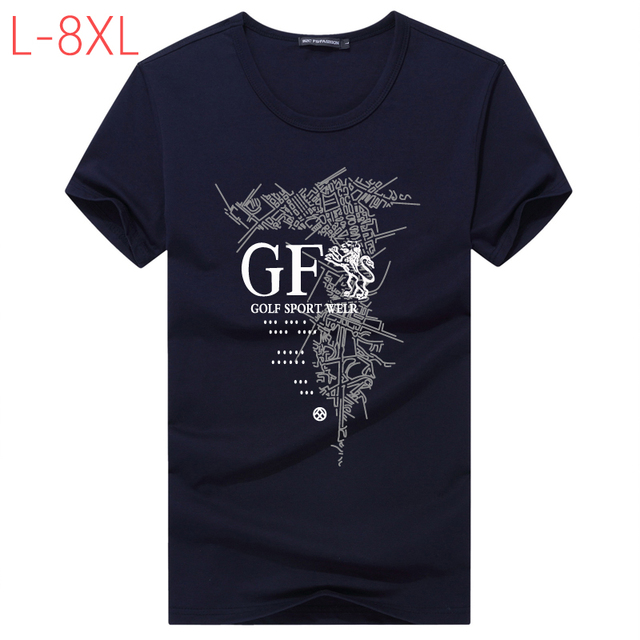 5fefe93fc06 Men Cotton Baggy T Shirt Summer L-8XL Male Casual 3D Printed Funny Short  Sleeve Top Tees Men Fitness Bodybuilding T Shirts CF259