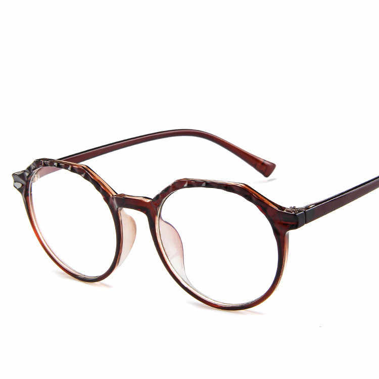413b353c72 ... 2019 Sale Rushed Unisex Gafas 51-19-144 Coating Round Glasses Eyeglasses  Transparent Frame ...