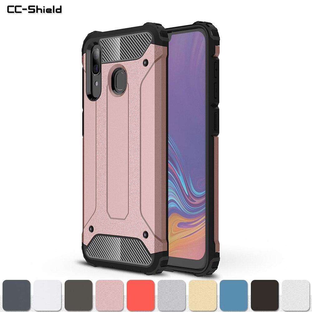 Armor Case For Samsung Galaxy A20 A 20 2019 SM-A205F/DS SM-A205FN/DS SM-A205 SM A205F/DS A205FN/DS A205 Phone Bumper Case Cover