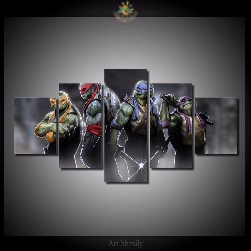 Ninja Turtle Wall Decor compare prices on ninja turtles art- online shopping/buy low price