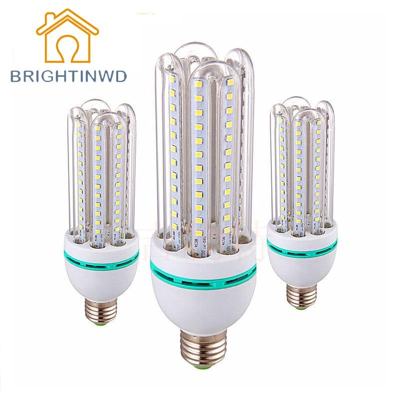 BRIGHTINWD SMD2835 LED Corn Bulb E27 7W 9W 12W 18W 24W 30W Energy Saving Lamp Light Corn Lamp 220v Lampada LED Home Lighting  недорого