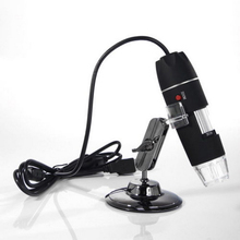 Wholesale 1Set USB 500X Microscope Endoscope Magnifier Digital Video Camera Microscopio 8 LED Whoelsale  Image Capture Focus Handheld