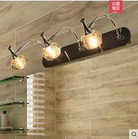 Кристалл зеркало свет ванной комнатой косметическое зеркало, шкаф туалетный столик макияж бра