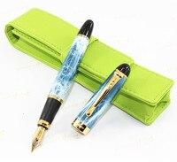 عالية الجودة الكرة القلم وبول الصين الهدايا الرياح التذكارية القلم + الأخضر القلم حقيبة ،