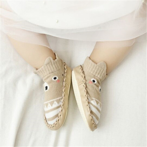 Infant First Walkers Leather Baby Shoes Cotton Newborn Toddler Boy Shoes Soft Sole Autumn Winter Babies Shoes for Baby Girl Karachi