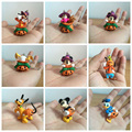 1PC send in random T-ARTS Halloween pumpkin Mickey Mouse toy pendant Toys figure anime action send in random