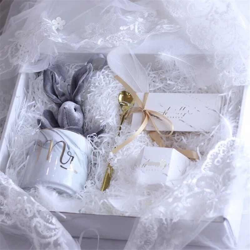 10g Bunte Geschreddert Papier Geschenk Box Füllstoff Crinkle Cut Papier Shred Verpackung Geschenk Tasche Hochzeit Geburtstag Party Favors Dekoration
