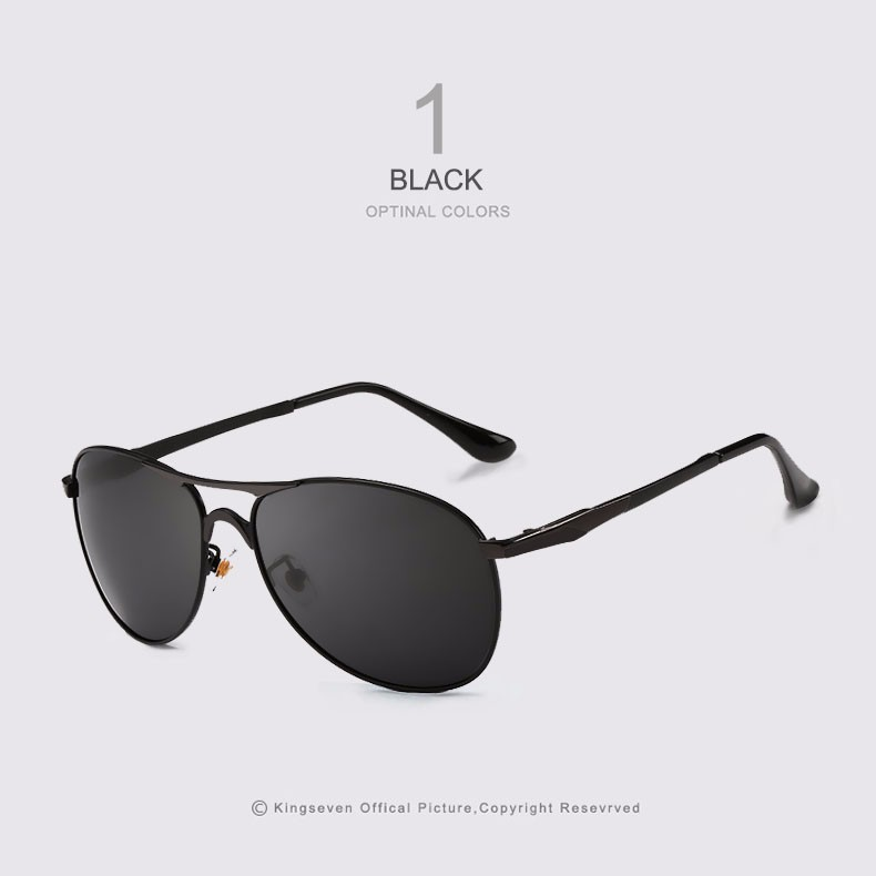 High Quality Polarized Sports Sunglasses Men Brand Designer UV protection KINGSEVEN Sun Glasses Driving Eyewear Male masculino 1