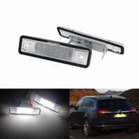 ANGRONG Per Vauxhall Opel Numero di Licenza LED Luce Targa Astra F G Corsa Omega Signum Vectra (CA233)