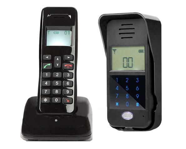 MOUNTAINONE New Arrivial Wireless Digital Audiio Door Phone,Password unlock / intercom system for 1-apartments