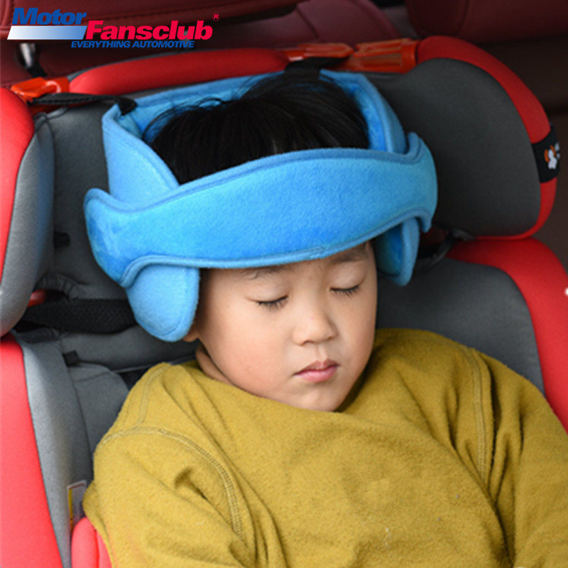 Vehicle Car Seat Headrest Pillow For Kids Children Safty Outdoor Short-Term Travel Sleeping Fixed Head Support Pad Car Styling  bts taehyung warriors