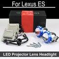 Bi-xenon автомобилей СВЕТОДИОДНЫЙ Проектор объектив Тяга Для Lexus ES350 ES300 ES330 с галогенной лампой ТОЛЬКО Модернизации Обновление (1996-2012)