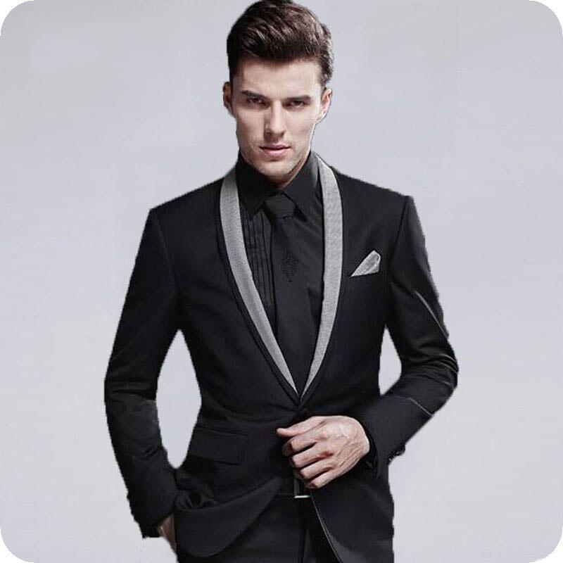 1 Men Suits Wedding Suits Costumes Homme (244)