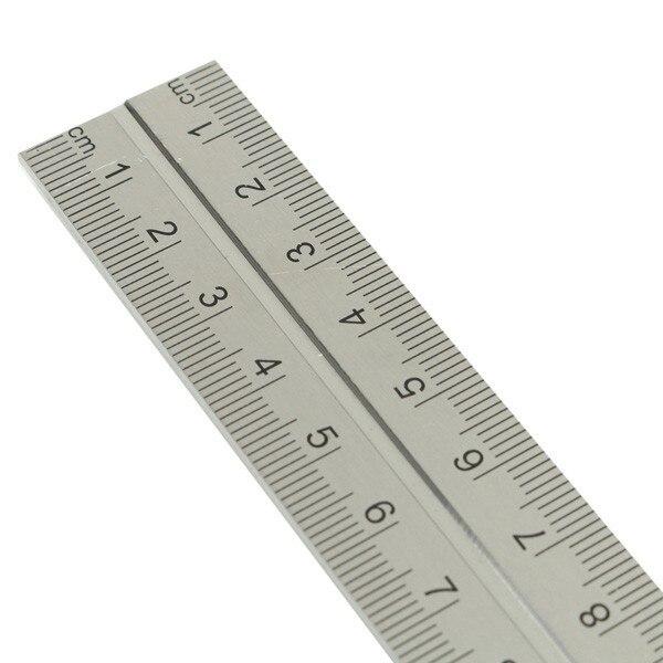 JIGUOOR Precise Measuring Tools Aluminium Combination Square DIY Workshop Hardware Angle Spirit Level 12″ (300mm)