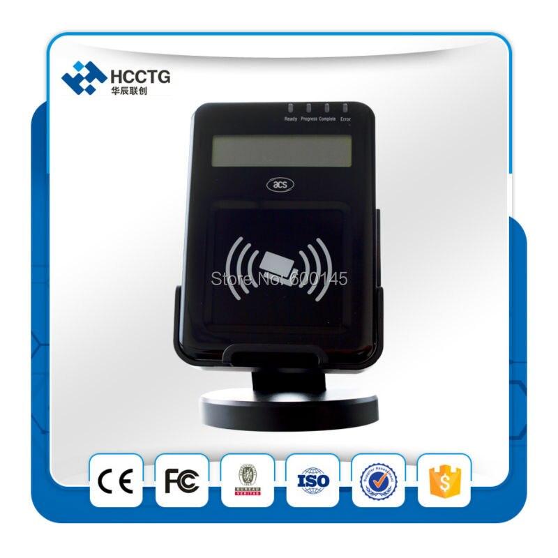 13.56 MHZ LCD USB PC - liée NFC sans contact lecteur Writer soutien ISO14443 ab carte avec sdk gratuit kit pour E - banque / Pay - ACR1222L - 4
