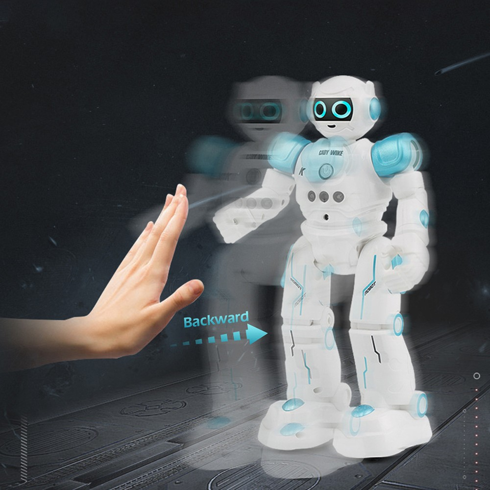 Image 3 - JJRC R11 puzzle remote control robot smart touch gesture induction robot dog singing and dancing intelligent interactive toys-in RC Robot from Toys & Hobbies