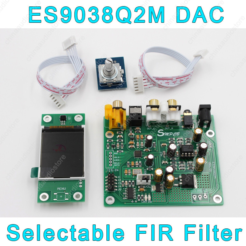 Accessories & Parts Oled Display For Es9038q2m Es9038 Q2m I2s Dsd Optical Coaxial Input Decoder Dac Headphone Output Hifi Audio Amplifier Board