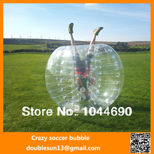 NEW CSB-03 0.8mm PVC 1.5m Bumper Body Ball,Inflatable Bumper Ball Zorb Ball Body Ball