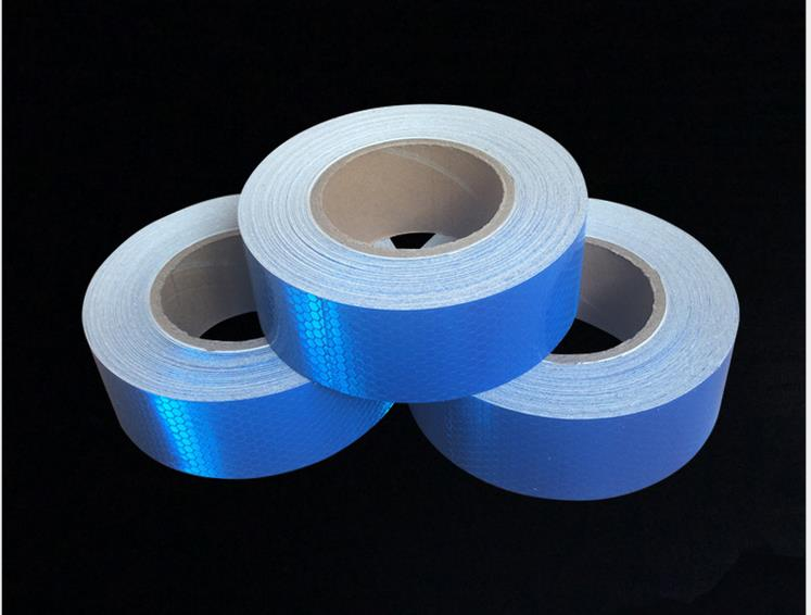 5cm 45M Reflective adhesive tape for Bike Truck Car Motorcycle PVC Reflective Self adhesive Warterproof Tapes