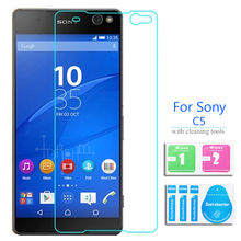 2PCS For Sony Xperia C5 Ultra Dual Tempered Glass Screen Protector 2.5 9h Safety Protective Film on C 5 E5506 LTE E5533 E5563