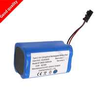 14.8 V 2600 mAh Li-Ion batterie Rechargeable batterie pour PUPPYOO V-M900R 900G robot nettoyeur haute qualité offre spéciale