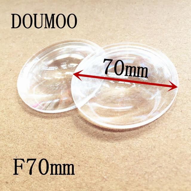 4 pcs /lot Diameter 70 mm Focal length 70 mm plastic magnifying lens Condenser lens acrylic fresnel lens fresnel lens for sale