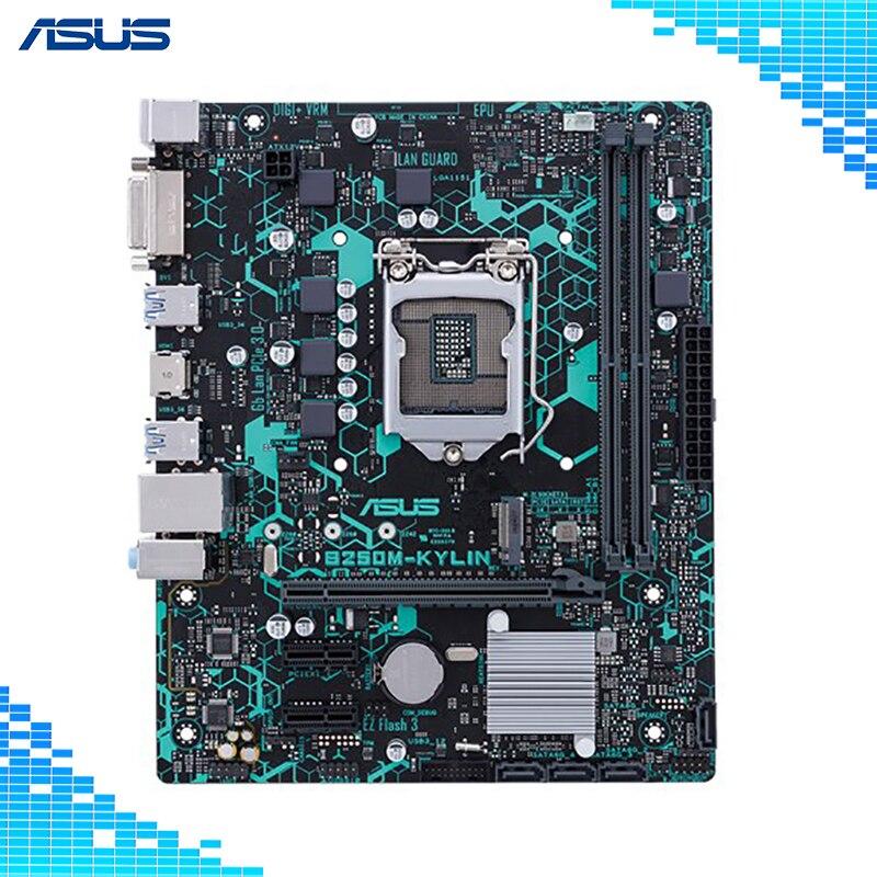 Asus B250M-KYLIN Jeu De Bureau lecteur Carte Mère Intel B250 Chipset Socket LGA 1151 DDR4 32g Soutien i5 7500 g4560