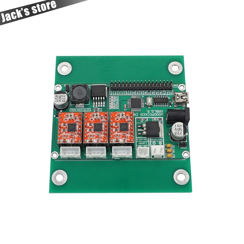 USB port cnc engraving machine control board, 3 axis control,laser engraving machine board , GRBL control 2017 hot sale model 5 axis cnc engraving