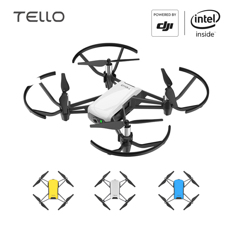 DJI Tello Camera Drone Ryze Tello Drones with Coding Education 720P HD Transmission Quadcopter FVR Helicopter