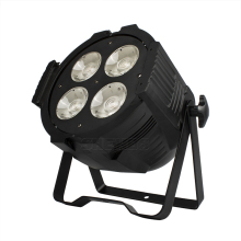 4x50W Par Led COB Warm White Cool Spotlight DJ Light 4/8 DMX Channel Stage Disso Party Lights SHEHDS luces