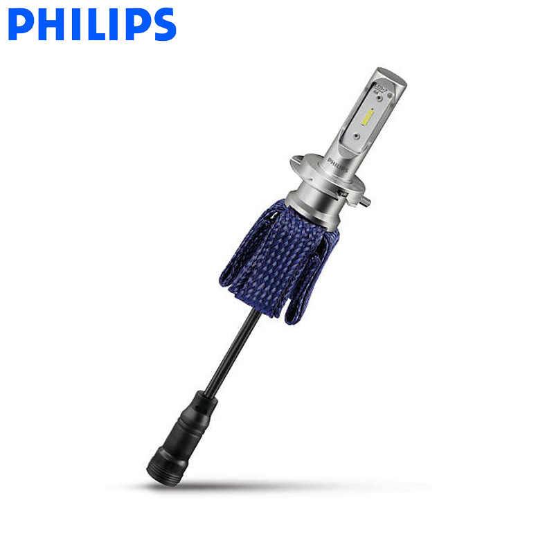 Philips светодиодный H4 H7 9003 Ultinon Эфирное светодиодный автомобиль Hi/короче спереди и длиннее сзади) луч 6000 К яркий белый свет авто фары H8 H11 H16 9005 9006 HB3 HB4