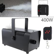 цена на Wireless Control LED 400W Smoke Machine Hood LED Fog Machine Professional Fog Machine Smoke Ejector for Wedding Stage Bar KTV