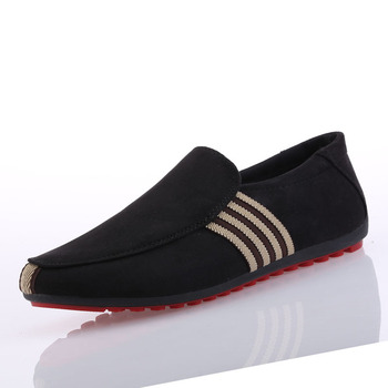 Flock Breathable Men's Driving Footwear 1