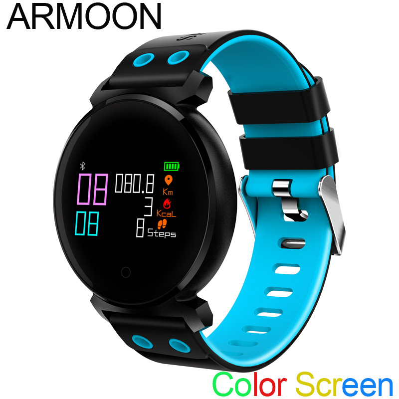 Smart Watch K2 Heart Rate Smart Bracelet Sleep Monitor Fitness Tracker Blood Pressure Smartband Color Screen Band VS mi band 2 3 fashion women color screen smart band wristband heart rate blood pressure monitor fitness bracelet tracker smartband pedometer