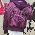 Vetements X MA-1Bomber Куртка Мужчины Всего Гребаный Темноте Пять Magic Star Ввс Альфа Ветровка AUTOMNE-HIVER Cap Куртки