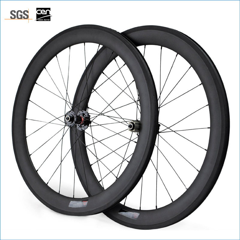Carbon Wheels Clincher 60mm 700C Disc Brake Road Bike Carbon Wheelset 23mm Width ironfix 568 60 700