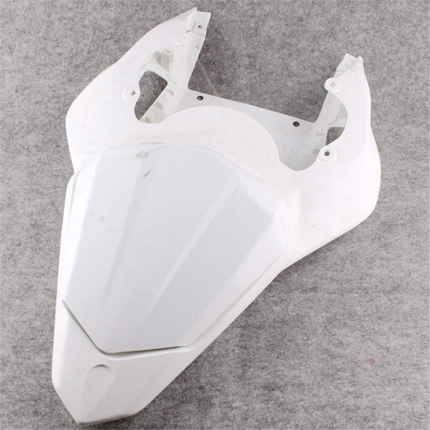 For Yamaha YZF R6 2006-2007 Unpainted Tail Rear Fairing ABS Plastic Motorcycle Modification Accessories Cover unpainted tail rear fairing cover bodywork for yamaha yzf r1 2007 2008 injection mold abs plastic