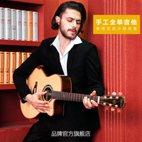 Chinese factory hot sale + Dadarwood DW 3100 handmade full solid acoustic guitar + 41 inch + free shipping