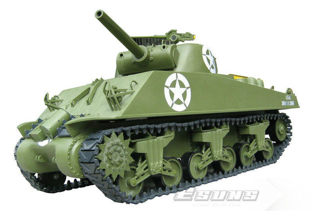 78ff4a1d14e67 Wholesale R/C Tank Model GT603R Gas Engine Powered Tanks 1/6 M4A3 Sherman  Tank - 105mm Howitzer GP RTR 2.4G 6 Channels Toys