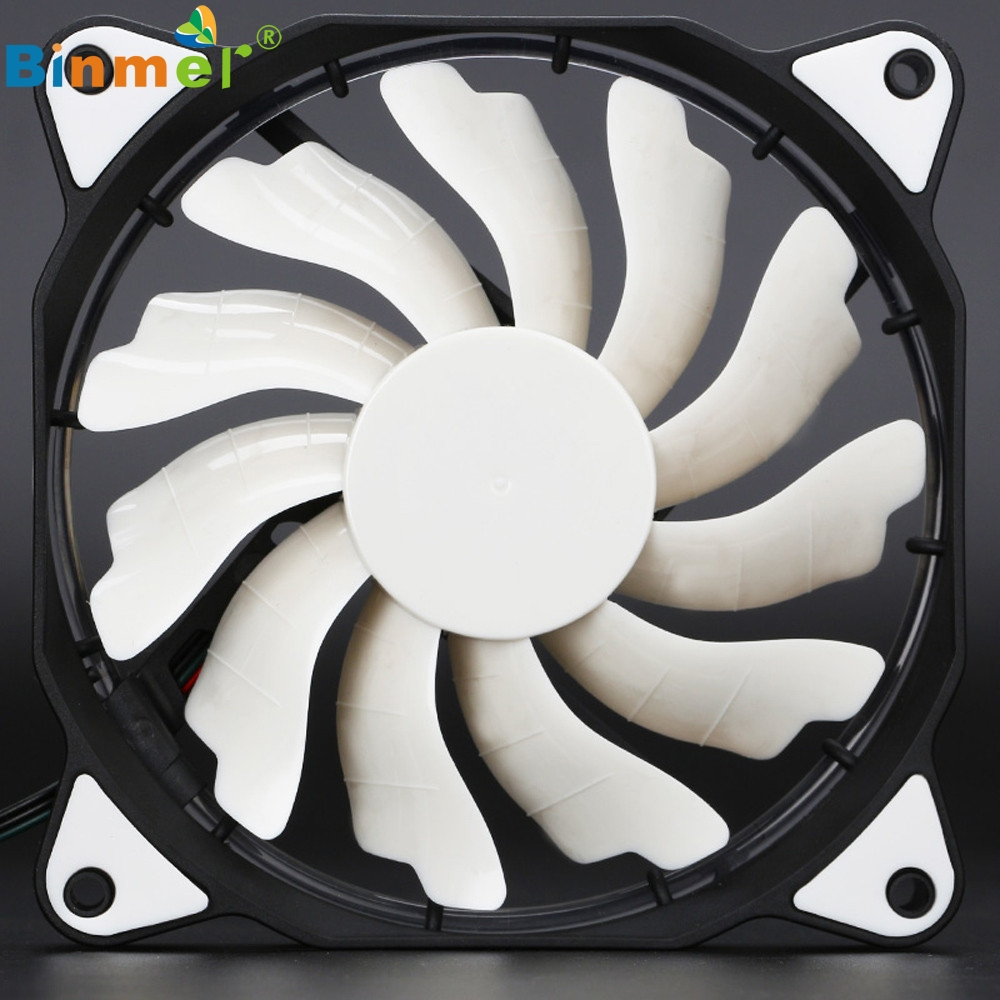Beatiful gift Fashion Quiet 120mm DC 12V 3+4pin LED effects Clear Computer Case Fan For Radiator Mod_KXL0808 reliable dropshipping do csv quiet 120mm dc 12v 3 4pin led effects clear computer case fan for radiator mod