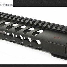 AR15 M4. 223 5,56 мм модульный 7 дюймов Бесплатный Поплавок карабин Keymod Handguard Пикатинни Крепление со съемными рельсами черный бренд