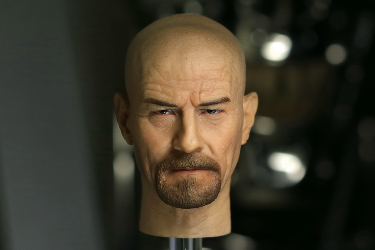 цена на 1/6 scale figure doll head for 12 action figure doll accessories.Breaking Bad Walter Bryan Cranston head shape.figure doll head