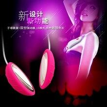 LEVETT Beren Female Magnetic Double Vibrating Egg Breast Massage  G-spot Stimulation Adult Sex Toys For Women