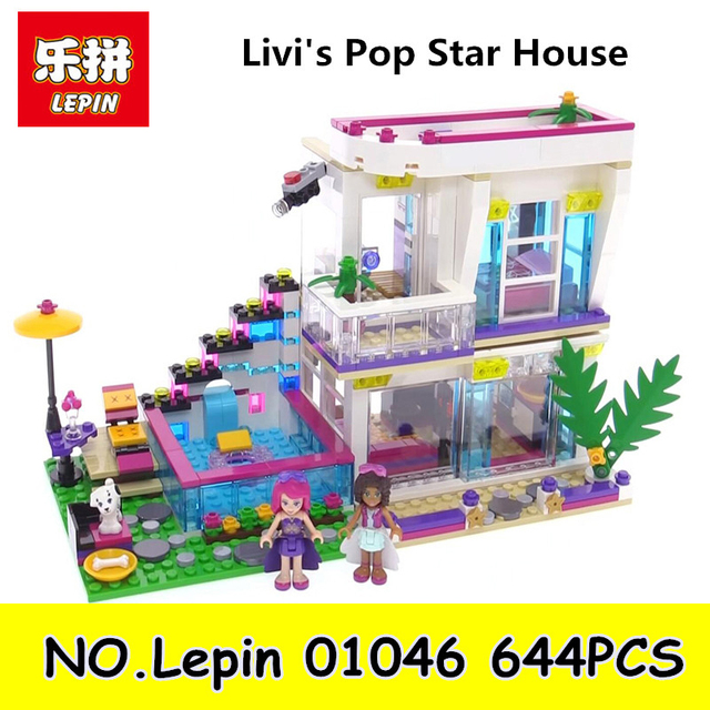 Lepin 01046 644pcs Friends Girl Series Building Blocks Toys For