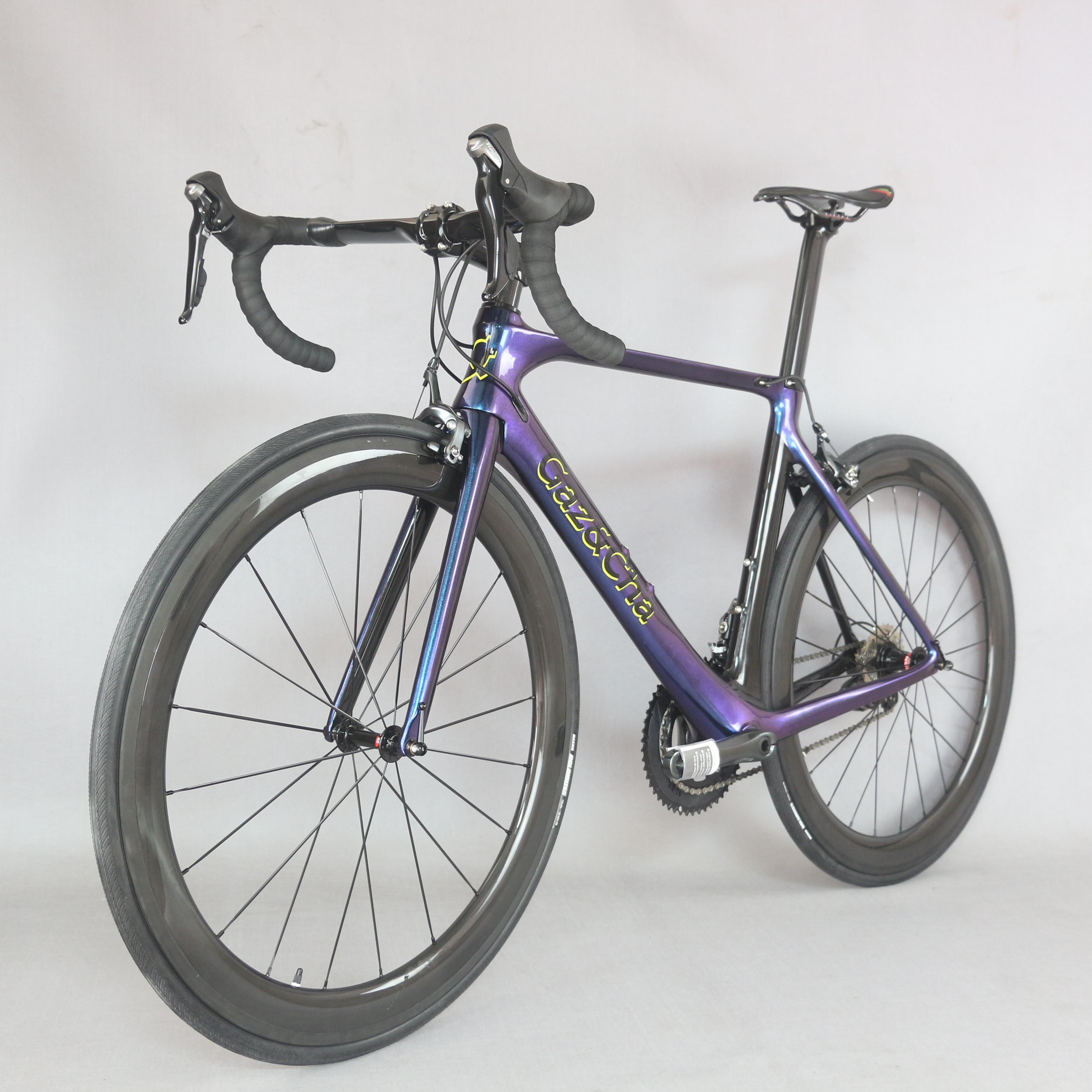 2019 New Chameleon Paint Complete Bicycle Carbon Fiber 700c Road  Bicycle  20 Speed Complete Bicicleta  Adopted SHIMAO Brake-470